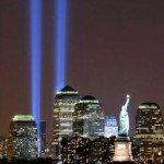 Twin Towers Tribute Lights 9.11
